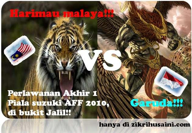 keputusan malaysia vs indonesia piala suzuki aff 2010, malaysia vs indonesia, garuda vs harimau malaya, gambar final di piala suzuki aff 2010, malaysia menentang indonesia di bukit jalil, gambar perlawanan akhir piala suzuki 2010,