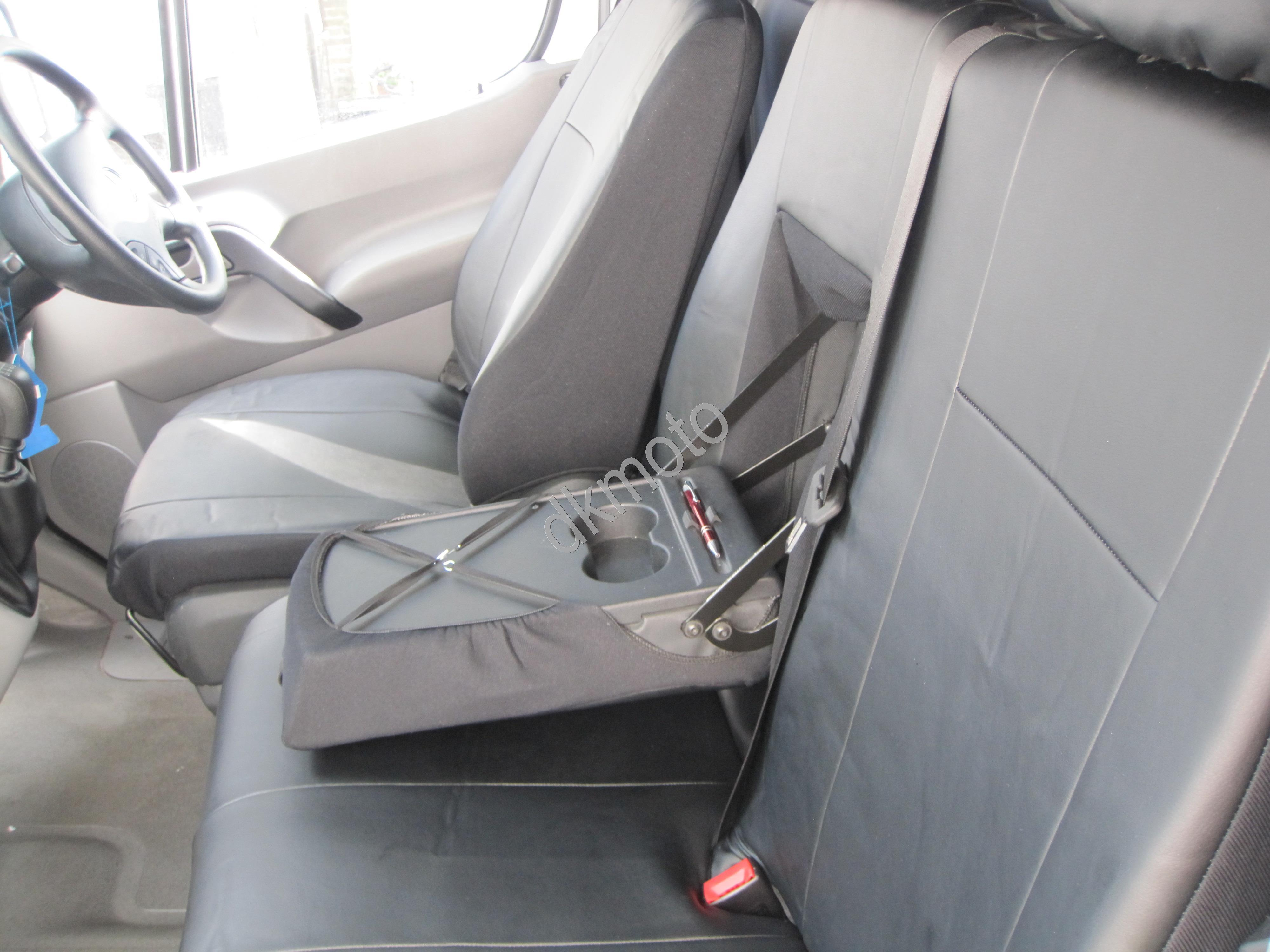 Tailored leather look seat covers for mercedes sprinter for Seat covers mercedes benz