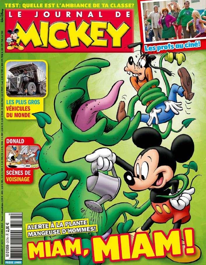 Le Journal de Mickey N°3174 du 17 au 23 Avril 2013