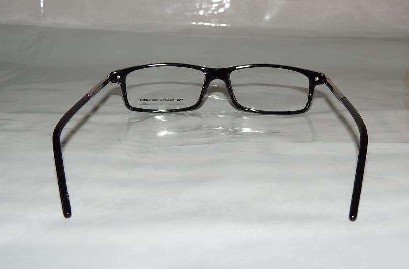 New Porsche Design P8135 Black Eyeglasses Frames Japan