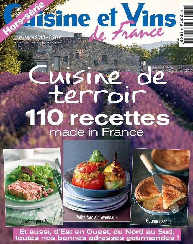 Cuisine et Vins de France Hors Série N°25 - 2013