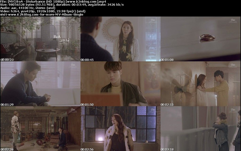 (MV) BoA - Disturbance (HD 1080p Youtube)