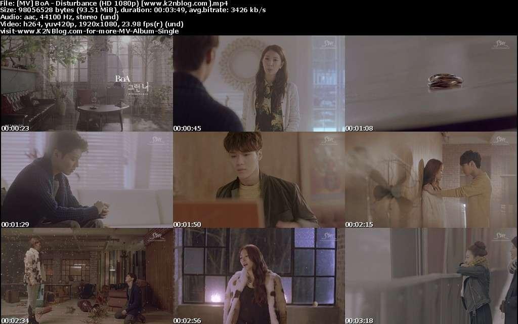 [MV] BoA - Disturbance (HD 1080p Youtube)